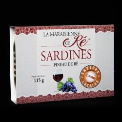 Sardines - Pineau de Ré 115g