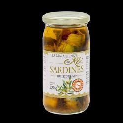 Sardines - Huile d'Olive...