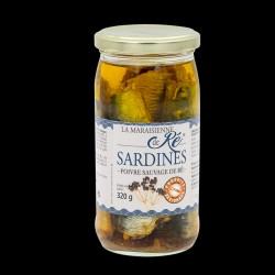 Sardines - Poivre Sauvage...